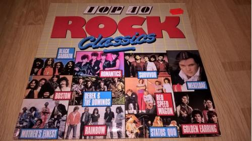 V.A. Rock Classics (Black Sabbath, Rainbow, Status Qwo, Boston) 1987. (LP). 12. Vinyl. Пластинка. Be
