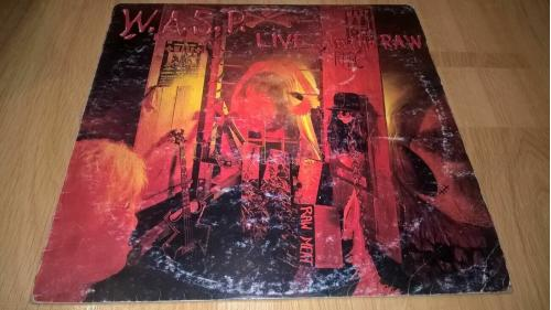 W.A.S.P. (Live...In The Raw) 1987. (LP). 12. Vinyl. Пластинка. Capitol Records. Yougoslavia.