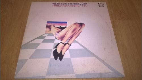 Yes (Time And A Word) 1970. (LP). 12. Vinyl. Пластинка. Russian Disc.