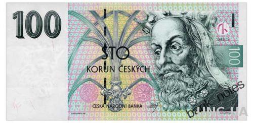 ЧЕХИЯ 18 CZECH REPUBLIC 100 KORUN 1997 Unc