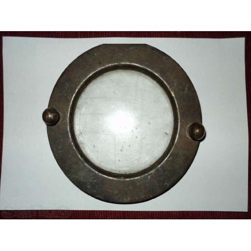 Иллюминатор 3х (12ти) болтового водолазного шлема, УВС.