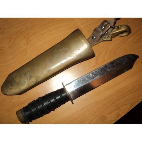 Нож водолазный, трехболтового водолазного снаряжения.