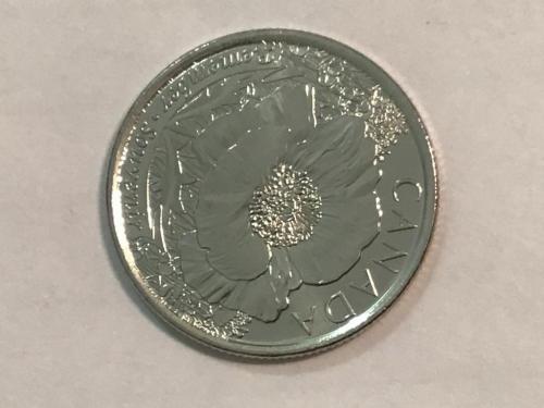 Канада, 25 центов 2015 года,