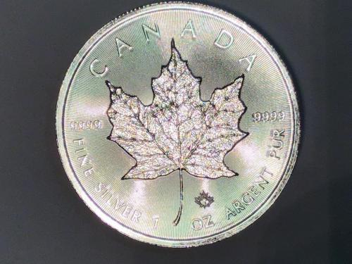 Канада 5 доларів долларов 31,31 г 1Oz 999 унції 2018