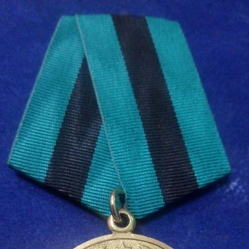 """Боевая медаль """"За освобождение Белграда"""". Люкс. Оригинал. Всё родное."""