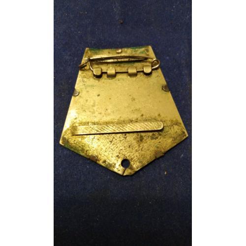 Двухслойная боевая колодка - 10. Оригинал. Есть все ленты к медалям и орденам. Промзвено.