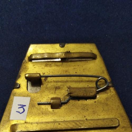 Двухслойная боевая колодка - 3. Оригинал. Есть все ленты к медалям и орденам. Промзвено.