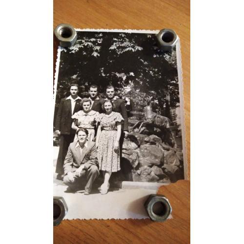Киев. 1959 год. Комсомольские работники.