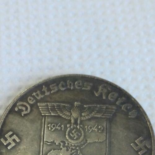 """Монета Гитлера """"Крым наш!"""""""