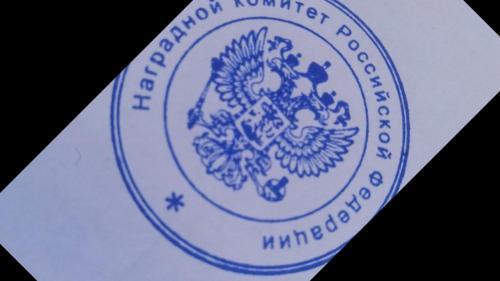 Печать, оттиск на любые ваши документы. Наградной комитет РФ и Украины.