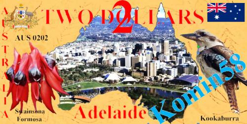 Сувенирная  банкнота Австралия-2