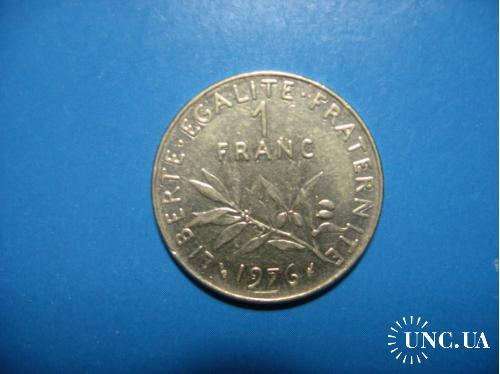1 франк 1976