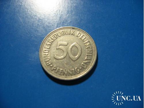 50 пфеннигов 1950 Состояние!