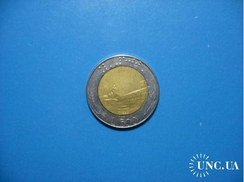 500 лир 1988