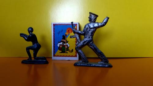 Фигурки игрушки СССР! Матросы! Металл! Редкость! Под реставрацию.