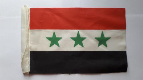 Вымпел. Флаг Ирака (до 1991 года). 185 х 115 мм.