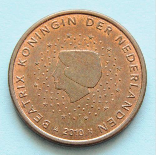 (А) Нидерланды 5 евроцентов 2010