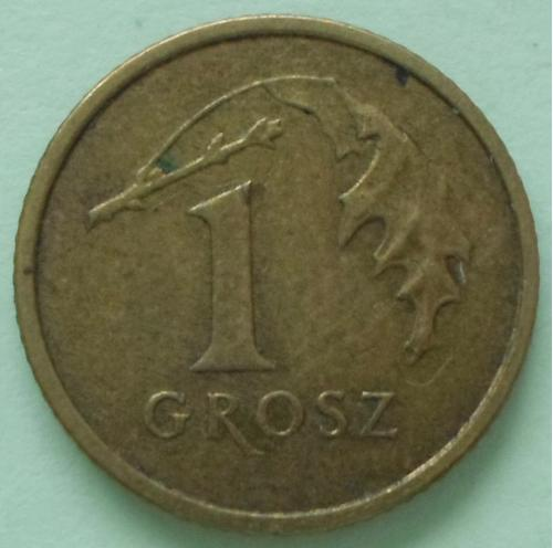 (А) Польша 1 грош 2004