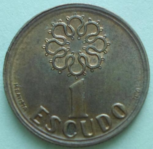 (А) Португалия 1 эскудо 1992