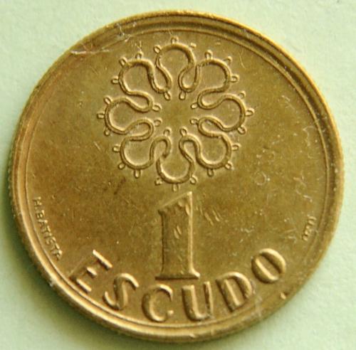 (А) Португалия 1 эскудо 1995