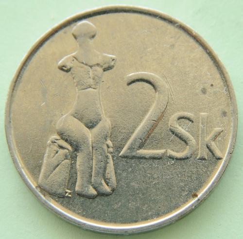 (А) Словакия 2 кроны 1993