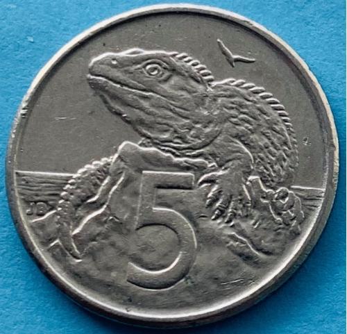(К3) Новая Зеландия 5 центов 1996