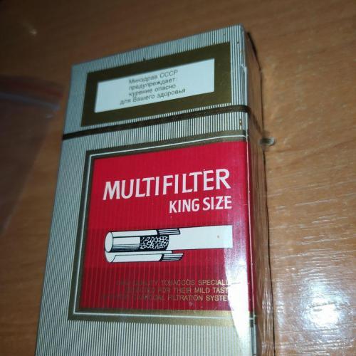 Коллекционная пачка Philip Morris (сырые)