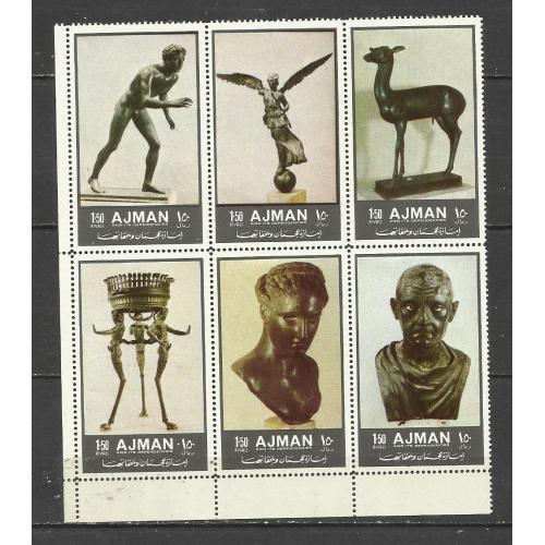 марки  Аджмана  (ОАЭ) 1972  **