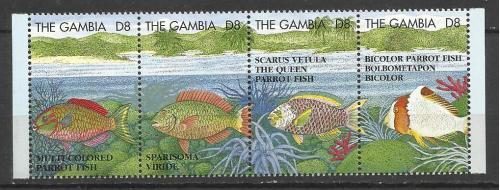 марки  Гамбии 1995 **