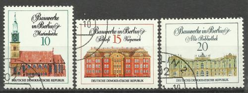марки Германии ГДР 1971 г.