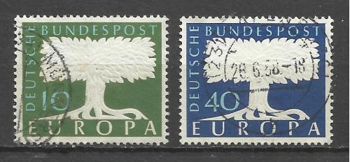 марки Германии СЕРТ ЕUROPA .