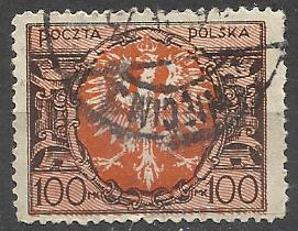 Марки  Польши 1921