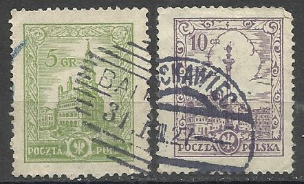 Марки  Польши 1925