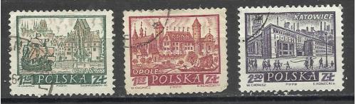 Марки  Польши 1960