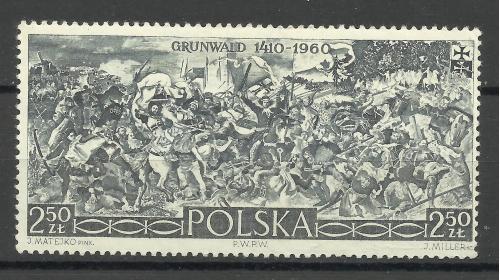 Марки  Польши 1960 **