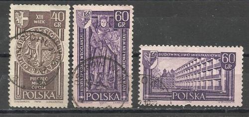 Марки  Польши 1961