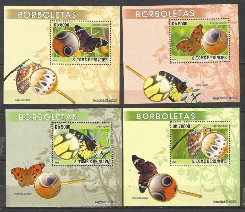 марки Сан-Томе и Принсипи  2008 **  Фауна (4 Блока)