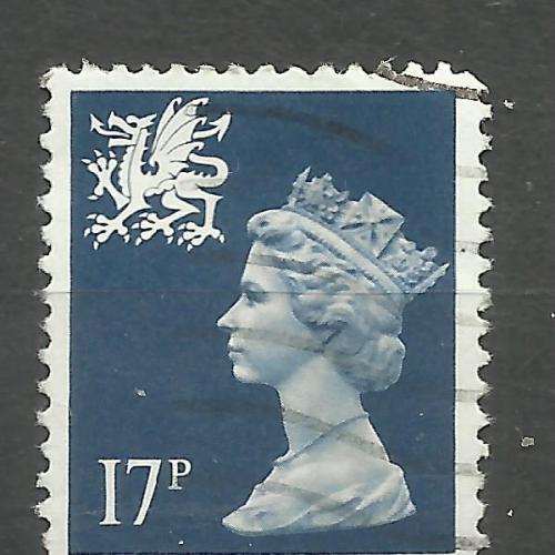 Марки Великобритании 1984 Региональные почтовые марки Уэльс