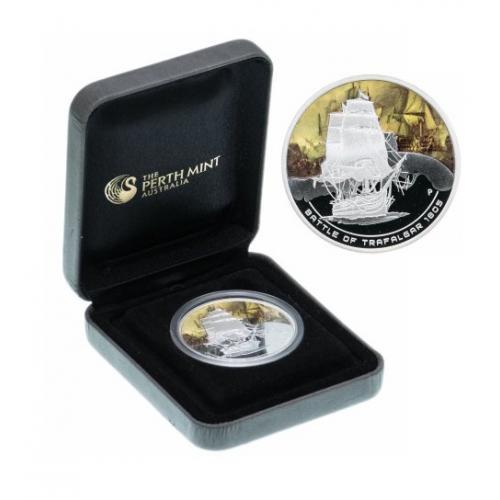Монета Острова Кука 2010  1 доллар   серебро