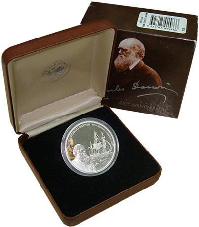 Монета Тувалу 2009  1 доллар  серебро
