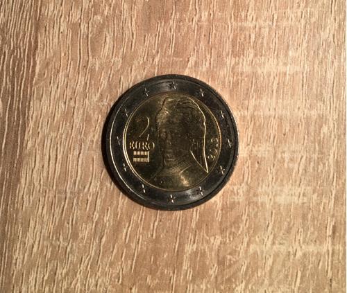 2 евро Австрия 2013