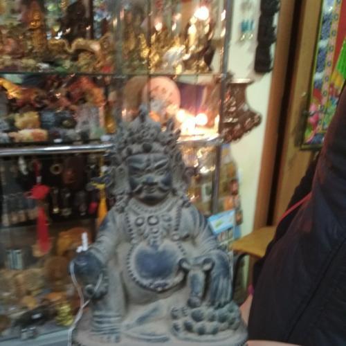 Індійський Бог багатства, Кубера.