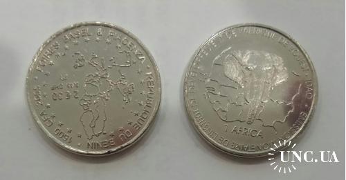 Бенин 1500 франков, 2005