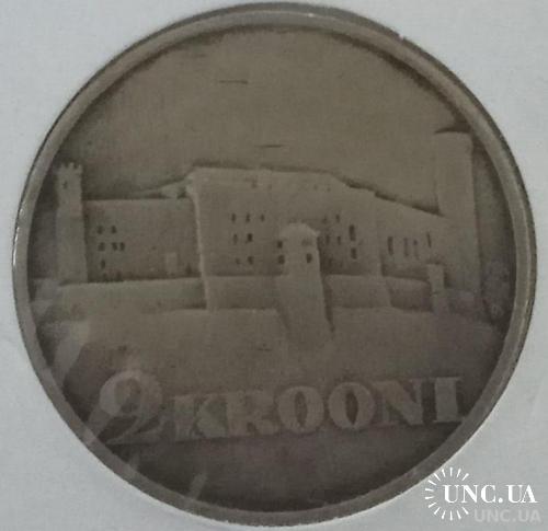 Эстония 2 кроны 1930 Замок Тоомпеа