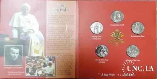 Мальтийский Орден, 1 лира 2005 (набор 5 шт.)
