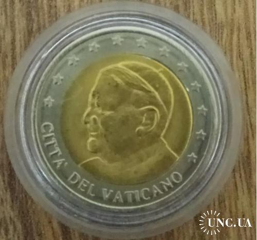 Медаль Ватикан  2 евро, 2005
