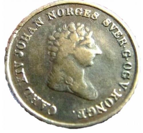 Норвегия 4 скиллинга 1842
