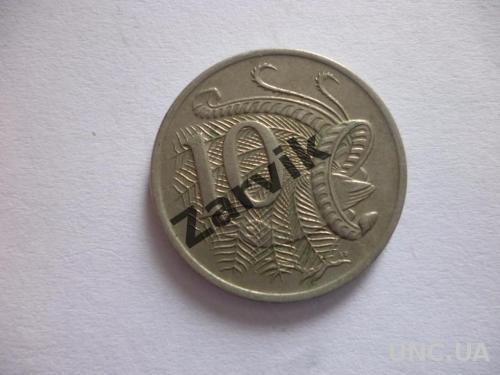 Австралия 10 центов 1980