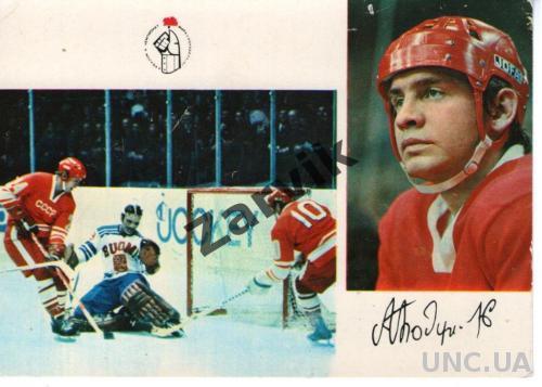 Хоккей. Сборная СССР чемпион мира и Европы-73 Александр Бодунов (Выпуск 1974)