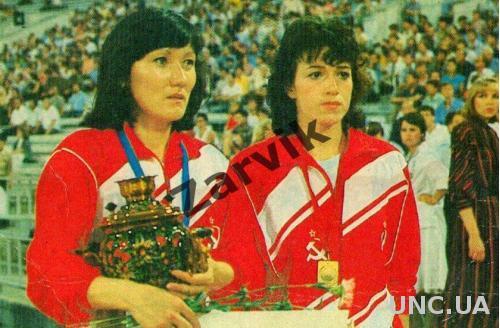 Мария Пинигина и Ольга Брызгина